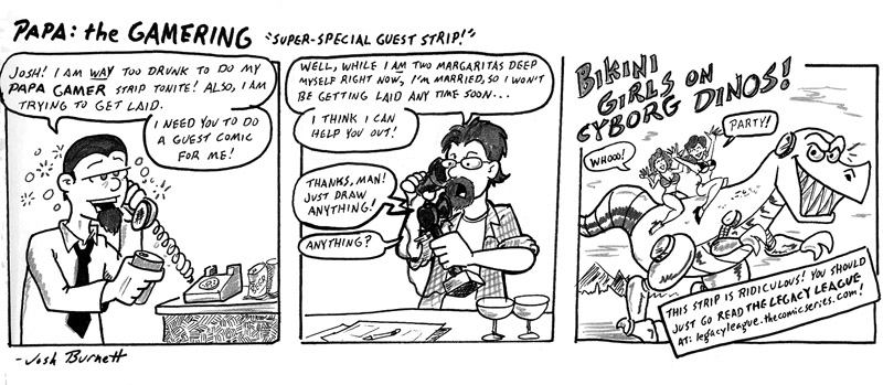 Super Special Guest Strip!